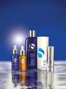 iS Clinical Skincare display